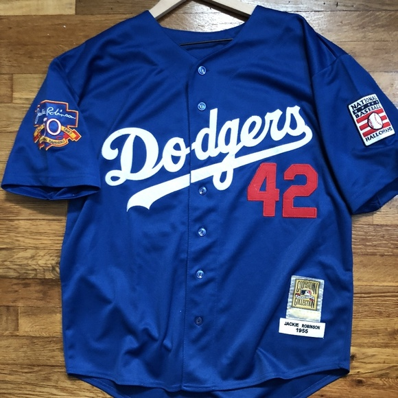 free shipping 3c08d 2c33a Jackie Robinson Brooklyn Dodgers Retro Jersey NWT